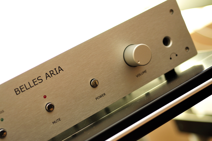 NuNu Distribution Ltd  Belles Aria Inegrated Amplifier Product Home Page